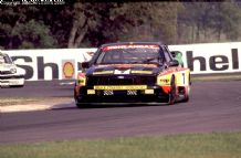 "Ford Sierra Pontiac ""Black Thunder"" Rob Cox Thundersaloon Donington 1991 photo"